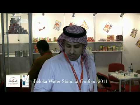 Beloka Water Stand at Gulfood
