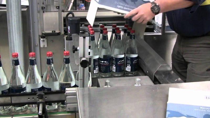 beloka water plant packing bottles