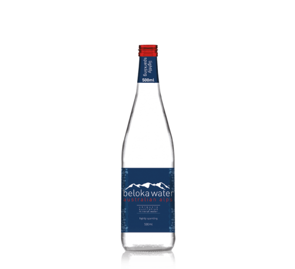 beloka water mineral sparkling 500 ml