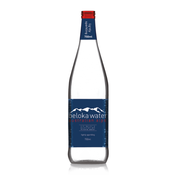 beloka water mineral sparkling 750 ml
