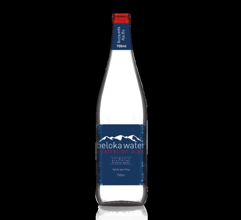beloka water mineral sparkling 750 ml
