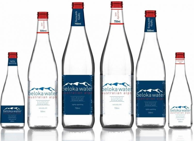 beloka water still and sparkling mineral water bottles