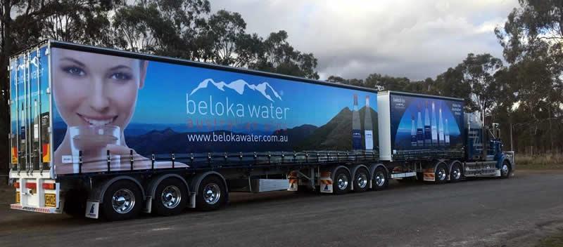 Beloka Water Truck and Trailer