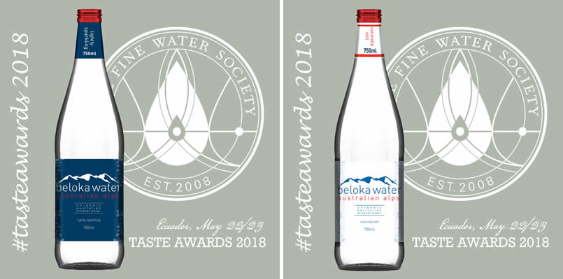 beloka water still and sparkling taste awards 2018