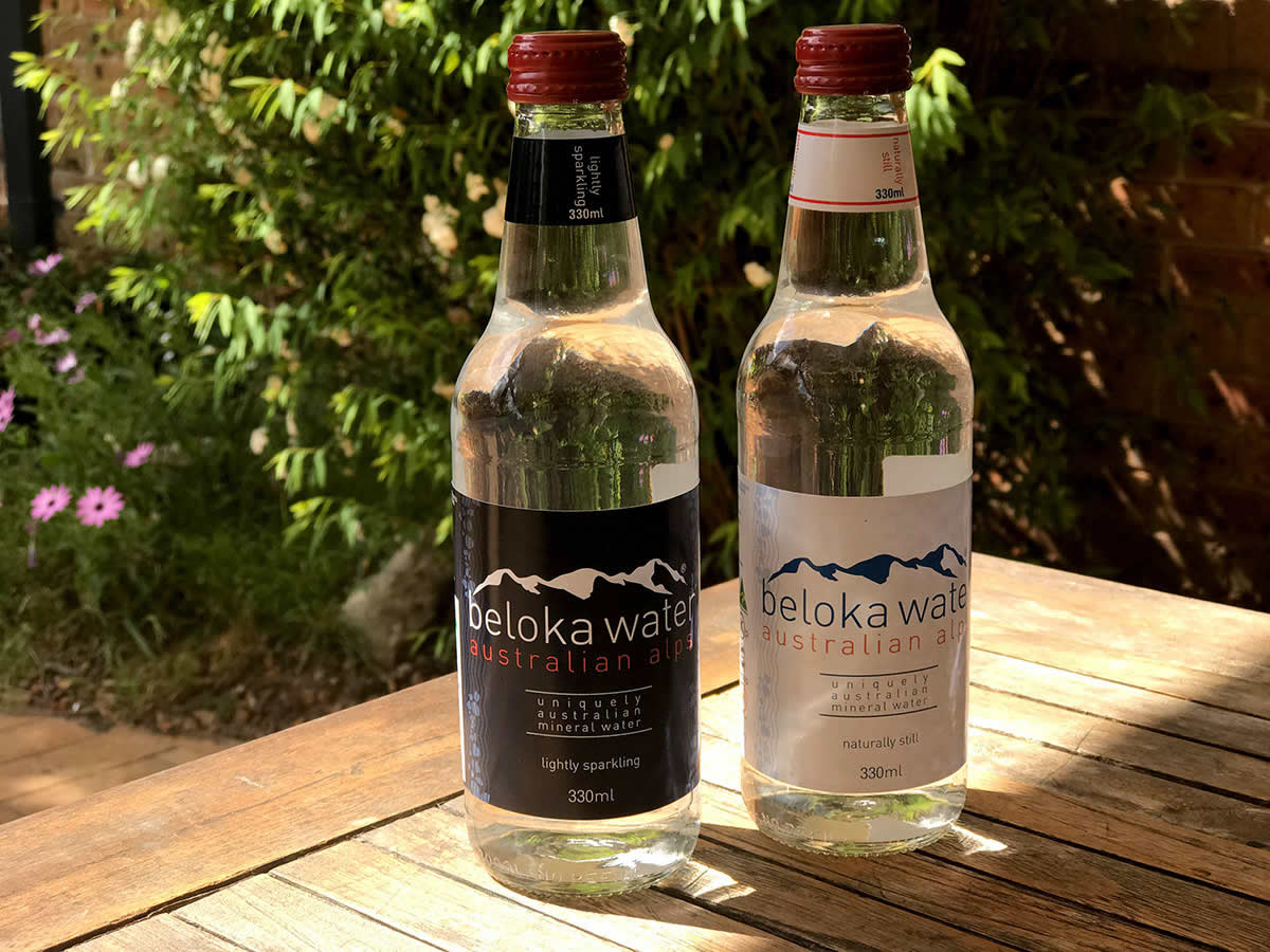 330 ml beloka water still and sparkling glass bottles