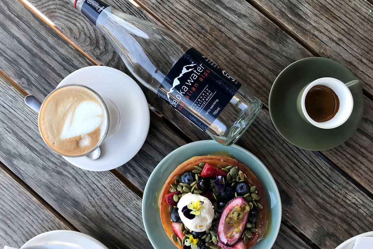 beloka water at butcher and the farmer tramsheds