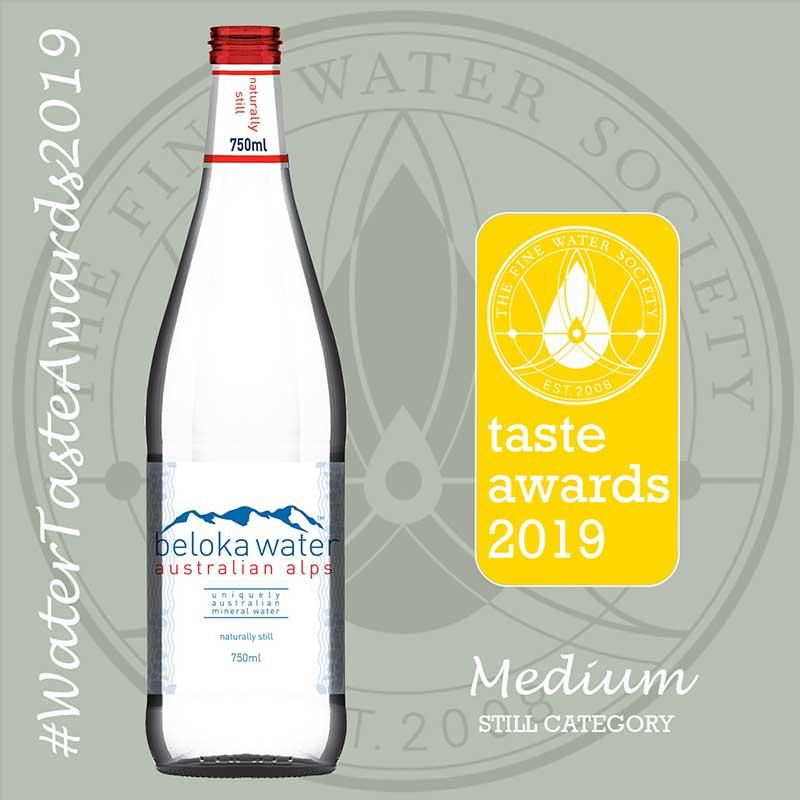 beloka water still taste awards 2019 gold