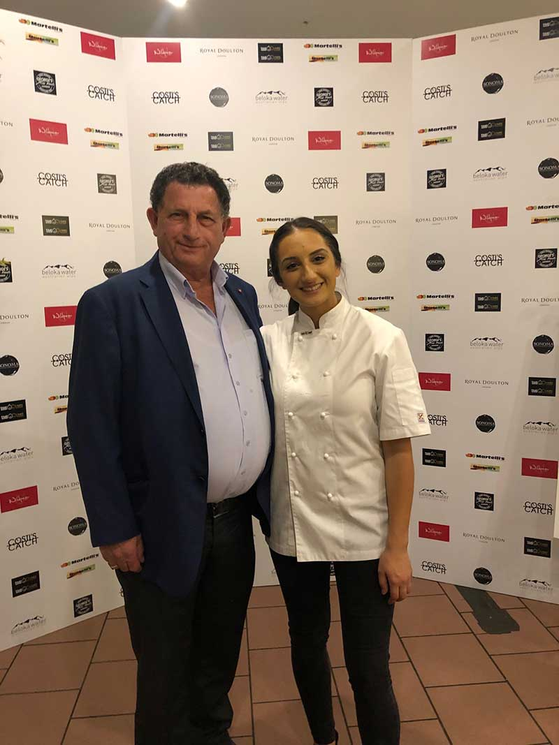 larissa tackhi and joe commisso masterchef pop up event